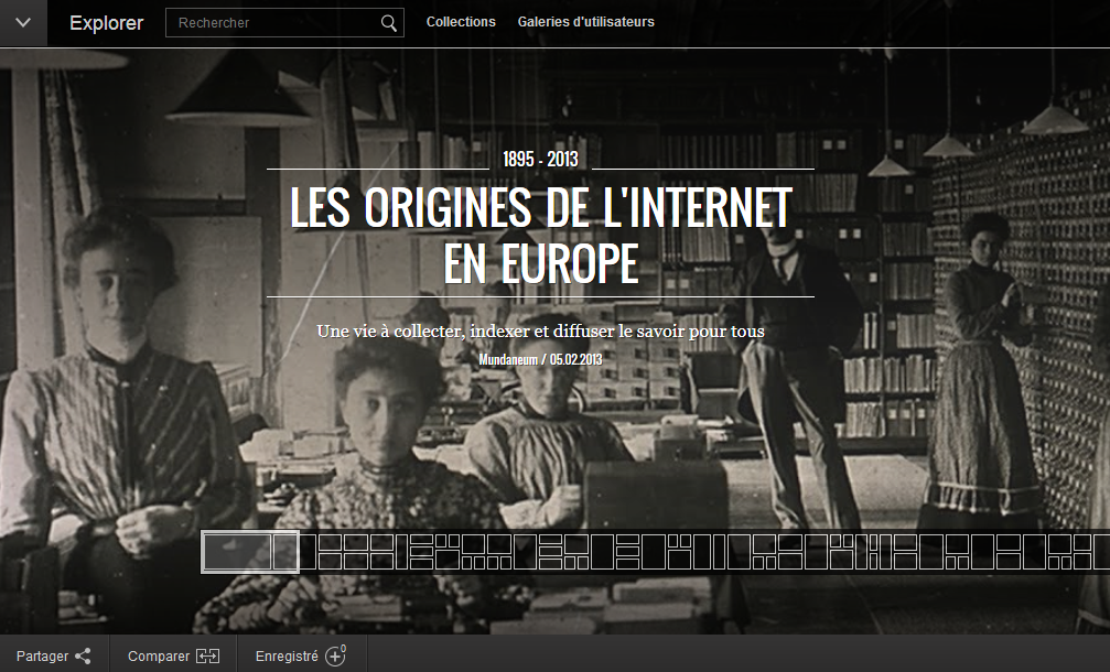 NTIC- Origines Internet Europe