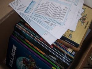 Moment magique du métier de bibliothécaire : l'ouverture des cartons