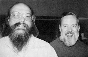Kenneth Thompson et Dennis Ritchie