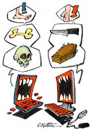 Injures en ligne