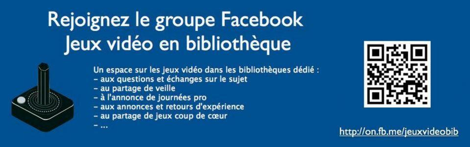 FacebookGroupeJeuxVideoBib