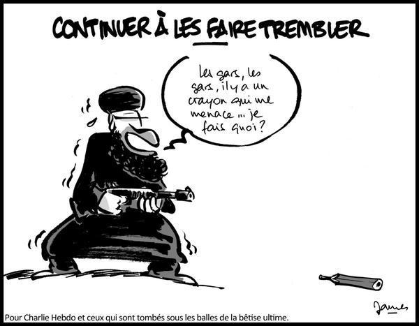 Charlie Crayon contre terroriste