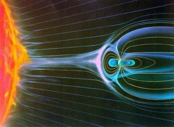 Science et religion - Vent Solaire magnétosphère