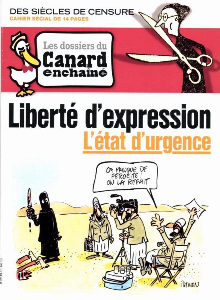 Liberté d'expression - L'état d'urgence