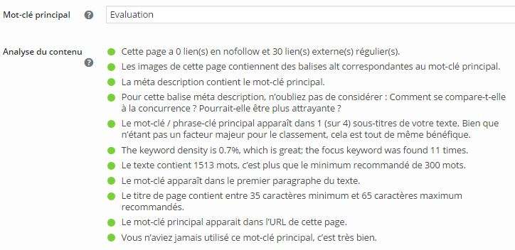 Webmarketing Ecriture web Yoast SEO