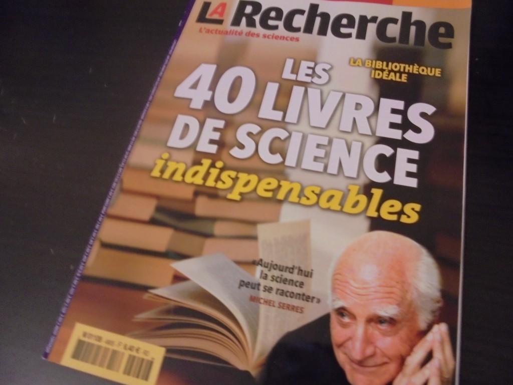 LaRecherche40LivresDeScience