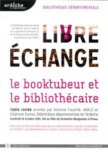 Le booktuber et le bibliothécaire