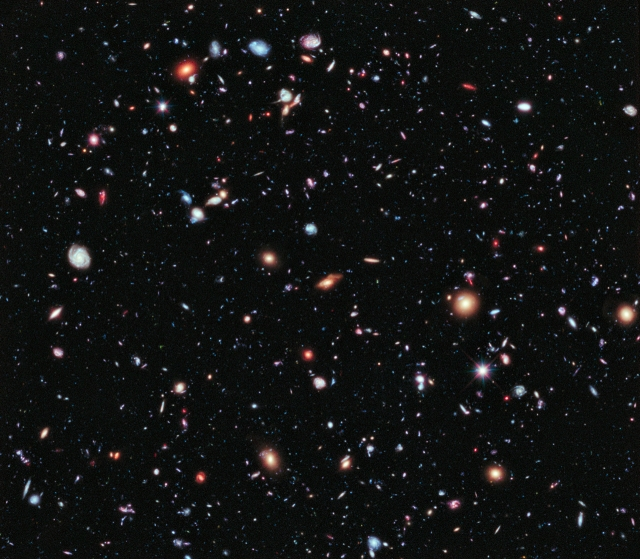 Science et religion - Galaxies Hubble