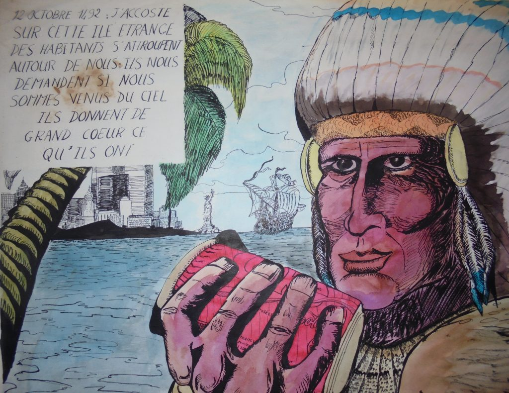 12 octobre 1492 - Savoir lire, écrire, dessiner et coder
