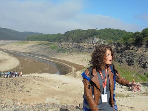 Guerlédan, notre guide Lucie