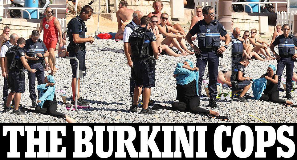 Burkini Cops