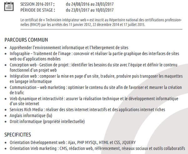 Programme Buroscope - De la gestion de l'information à la mise en forme de celle-ci.