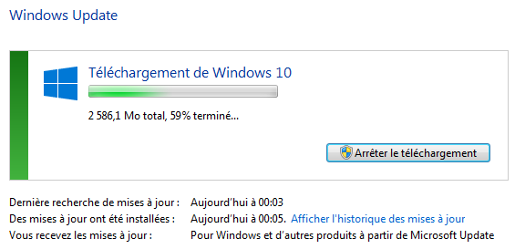Windows 10 Telechargement Update