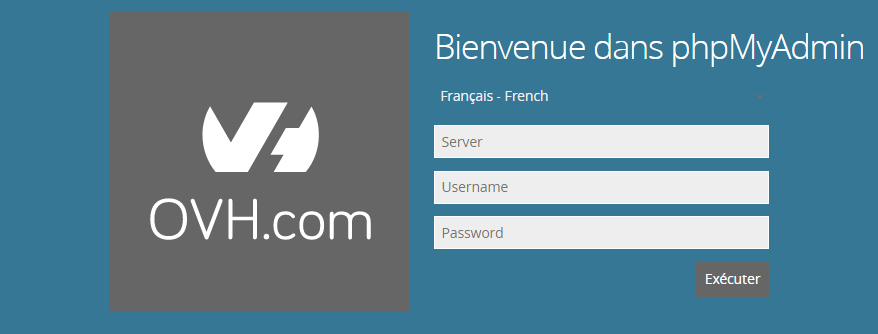 Migrer WordPress - phpmyadmin