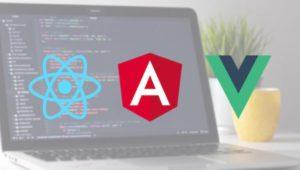 Frameworks React Angular Vue.js