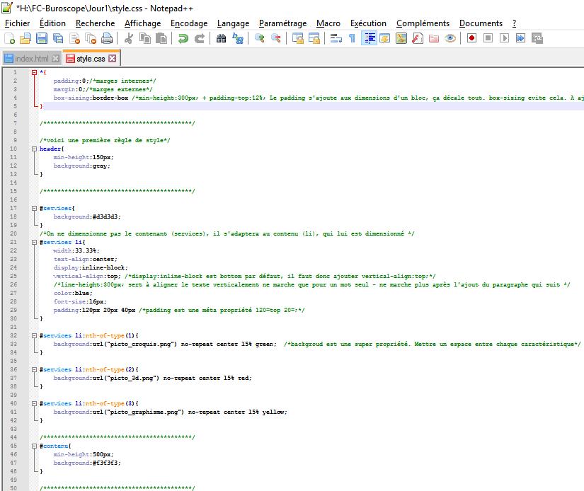 Technicien Intégrateur Web - style.css