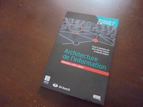 Archinfo Architecture de linformation Salaun Habert