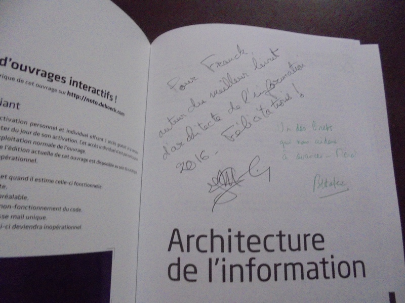 Architecture Information Dedicace
