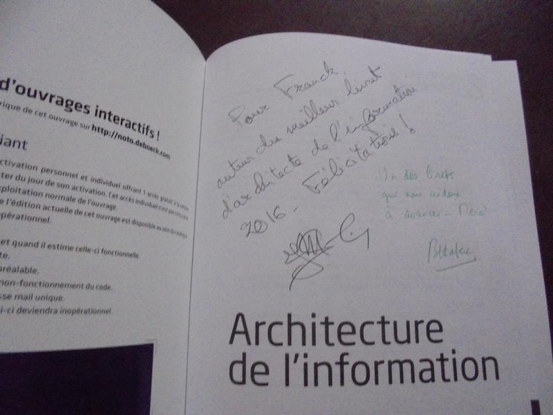 Architecture Information Dedicace