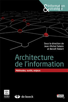 Références en architecture de l'information - livre salaun & habert