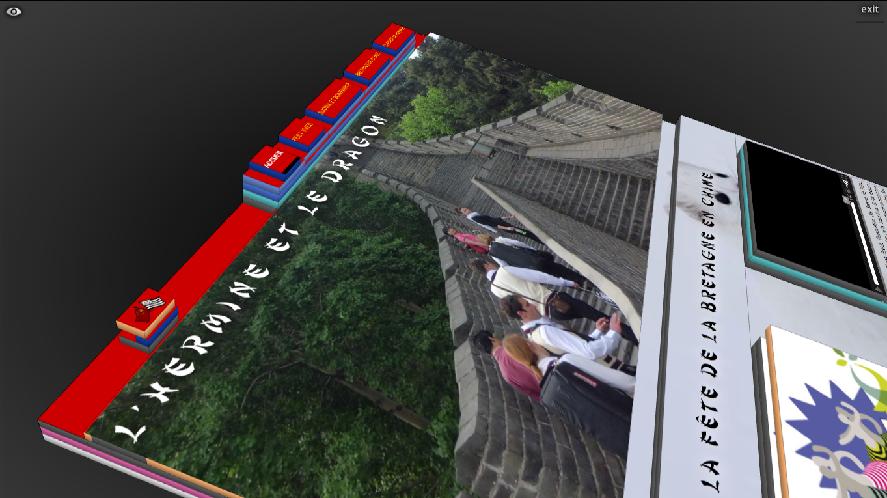 menu chine Tilt 3D