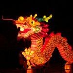 L'hermine et le dragon : Dragon chinois