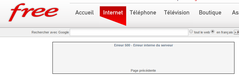 Nom de domaine - Infodocbib ne pas prévenir les visiteurs